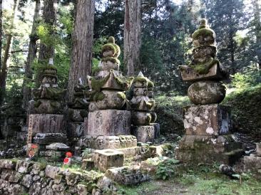 Oku-no-In au Mont Koya