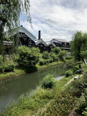 Le quartier du saké à Kyoto