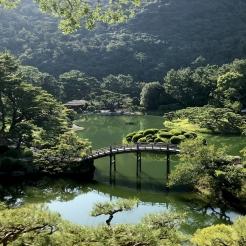Le jardin Ritsurin à Takamatsu